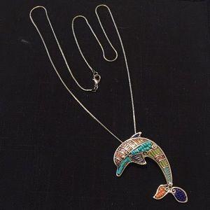 Jewelry - Dolphin women's necklace